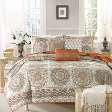 Taupe Coverlet Home Essence Menara Quilted Coverlet Set Walmart Com
