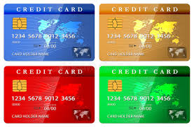 free debit cards 4 color credit or debit card design template stock photos image