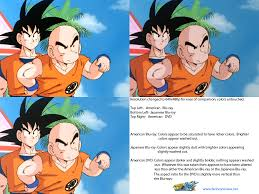 Washed Out Colors - dragon ball z kai color differences comparison the fanboy review