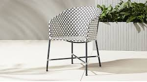 Cb2 Patio Furniture by Brava Outdoor Wicker Dining Chair Cb2