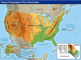 geography map usa geography map my