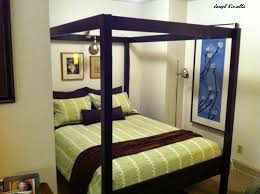 Reclaimed Wood Double Bed Frame Bedroom Beautiful Black Bedroom Decoration Using Rustic Reclaimed