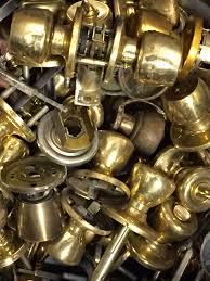 Brass Door Knobs Scrap Metal Raleigh Nc Recycling Junk Cars Yards Copper
