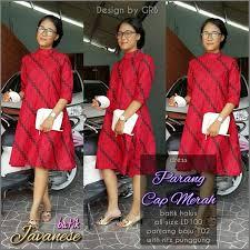desain baju batik untuk acara resmi 10 best wa 087836092333 model dress batik anggun dress batik