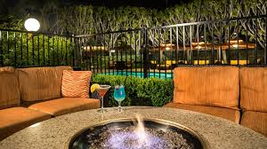California Fire Pit by Doubletree Carson California Hotel Near Los Angeles