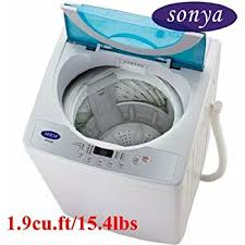 Washing Machine That Hooks Up To Faucet Amazon Com Sonya Compact Portable Apartment Small Washing Machine