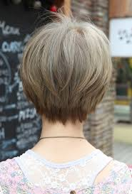 back views of short hairstyles short hair cuts back view hair style and color for woman