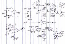 extraordinary multiple battery isolator wiring diagram images on