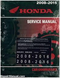 2008 2016 honda cbr1000rr motorcycle service manual 61mfl08 ebay