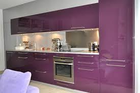 meuble cuisine violet cuisine violet blanc palzon com