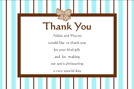 thank you cards personalised boy christening thank you cards design 2