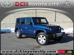 blue jeep wrangler unlimited 2010 jeep wrangler unlimited sahara 4x4 in deep water blue pearl