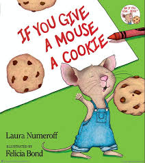 book web sler if you give a mouse a cookie hardcover