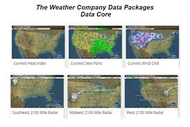 Current Weather Map Weather Data Packages The Weather Company