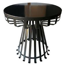 outdoor metal end tables modern outdoor side tables allmodern