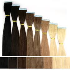 lcp extensions oubo in extensions echthaar 100 remy haarteile 10 tressen