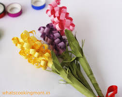 paper flowers whats cooking mom