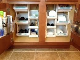 Under Kitchen Sink Cabinet Under Cabinet Storage Bins U2013 Baruchhousing Com