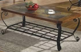 ashley antigo slate dining table ashley antigo slate top coffee table table designs