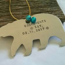 personalized christmas ornament new grandparents christmas
