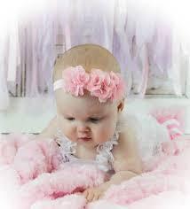 headband newborn pink baby girl headband flower headband newborn headband