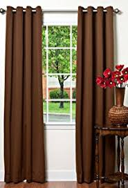 Brown Blackout Curtains Best Home Fashion Wide Width Thermal Insulated