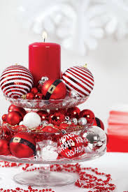 easy make christmas table decorations christmas table decorations