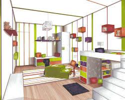 dessiner sa chambre en 3d dessiner une en perspective frontale idées de décoration