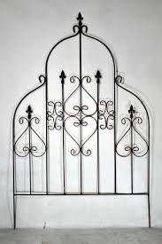 wrought iron lg egyptian trellis plant support vine growing accent