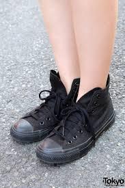 black high top converse sneakers u2013 tokyo fashion news