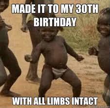 30th Birthday Meme - 20 awesome 30th birthday memes sayingimages com