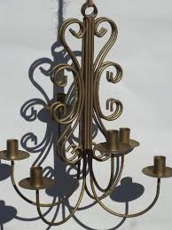 Candle Holder Chandeliers Vintage Wrought Iron Wall Sconces Hanging Chandelier Candle Holders