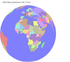 World Map Globe by Code Snippets Svg World