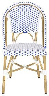Safavieh Salcha IndoorOutdoor Stacking Side Chair Set Of - Indoor outdoor sofas 2