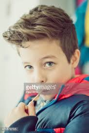 hair styles for 8 year old boys 8 years old boys new haircut stock photo getty images