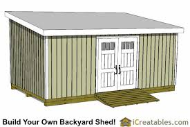 How To Make A Storage Shed Plans by 12x24 Shed Plans Easy To Build Shed Plans And Designs