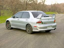 mitsubishi modified wallpaper 2006 mitsubishi lancer evolution ix rear angle 1600x1200 wallpaper