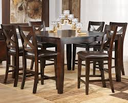 pub dining room set grethell 7 piece pub height dining