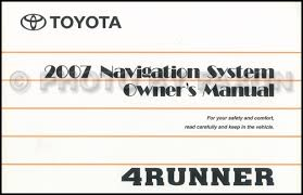 1998 toyota 4runner owners manual search