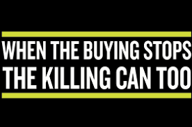 wildaid when the buying stops the killing can