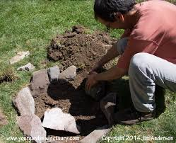 Easy Fire Pits by Cheap Easy Fire Pit From Some Stones And A Shovel