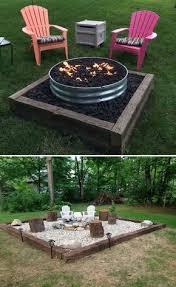 How To Build A Backyard Firepit 189 Best Pit Backyard Images On Pinterest