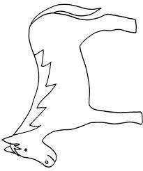 coloriage de petit poulain dessincoloriage