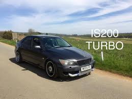 lexus is200 wide body kit lexus is200 turbo update review screamer pipe and more power