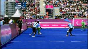Paralympics Blind Football Paralympics 2012 London Five A Side Iran Argentina August Youtube