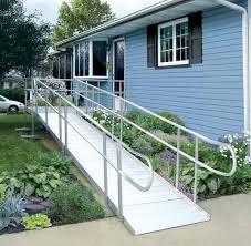 porch lift versus wheelchair ramp mobilitybasics ca