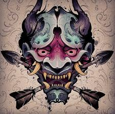 403 best japan tattoo images on pinterest draw hannya mask