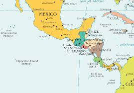 map of mexico south america map of mexico central america major tourist attractions