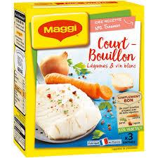 bouillon blanc en cuisine court bouillon légumes vin blanc maggi