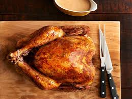 big brined herby turkey recipe burrell food network